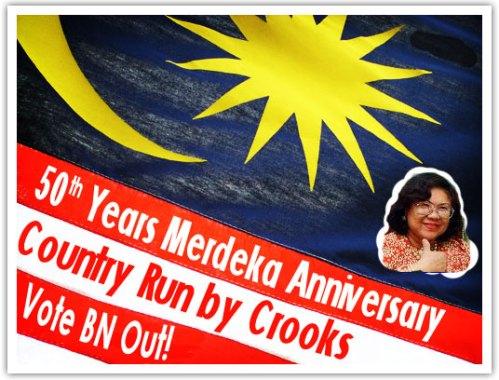 malaysia merdeka 50tahun